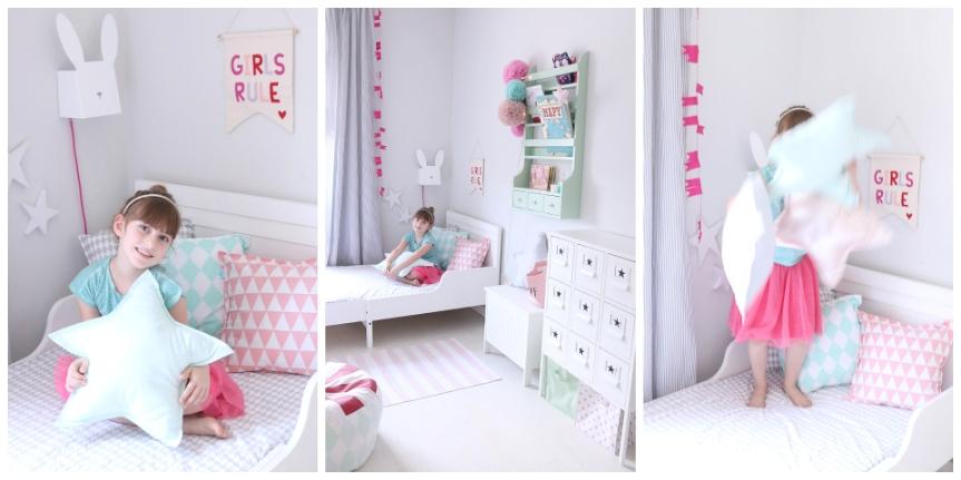 dots my love pokoj dziewczynki